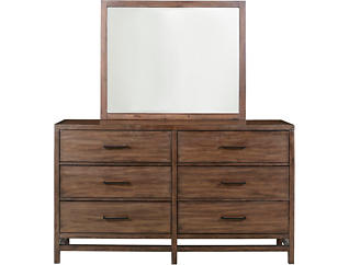 Thomas Walnut Dresser, , large
