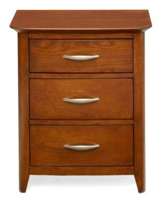 Sonoma 3 Drawer Nightstand Art Van Furniture
