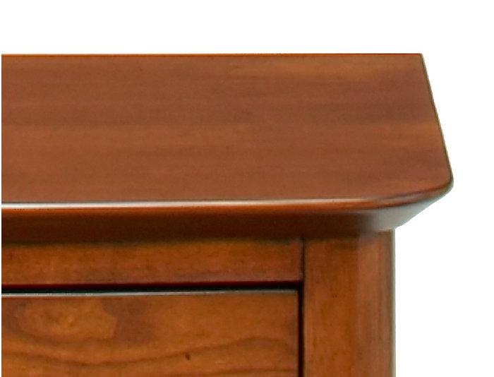 3 Drawer Nightstand, , large