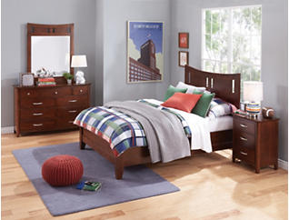 Village Craft Twin Platform Bed, , large