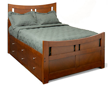 Full Captain's Bed, , large