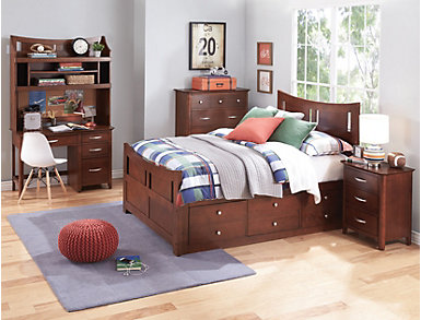Village Craft Full Captain's Bed, , large