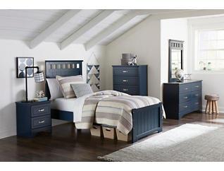 Clarke 4pc Twin Bedroom Set, , large