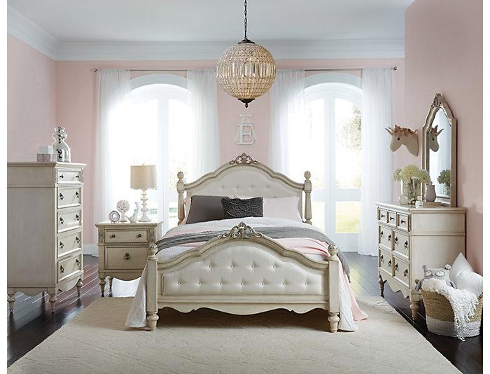 giselle 5 piece twin bedroom set outlet at art van. Black Bedroom Furniture Sets. Home Design Ideas