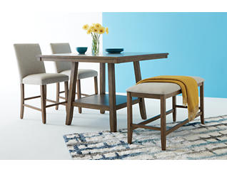 Halden 4pc Dining Room Set, , large