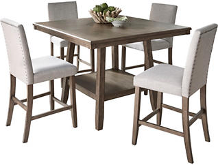 Halden Walnut Dining Set