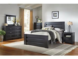 Haywood 4pc King Bedroom Set, , large