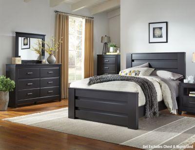 Philippe Merlot 6pc Queen Bedroom Set Art Van Furniture