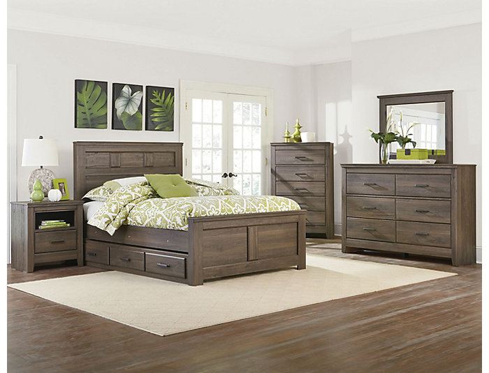 Haywood 7 Piece Twin Bedroom Set, , Large