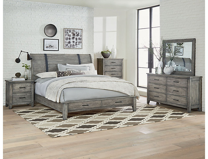 Nelson 6 Piece Queen Bedroom Set, , large