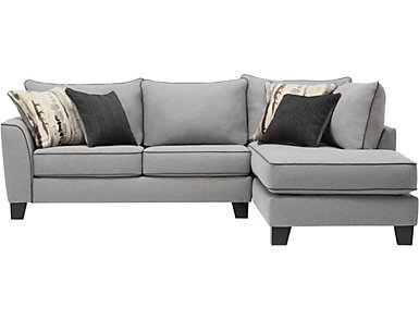 Nicole Cement 2 Piece Sectional, , large