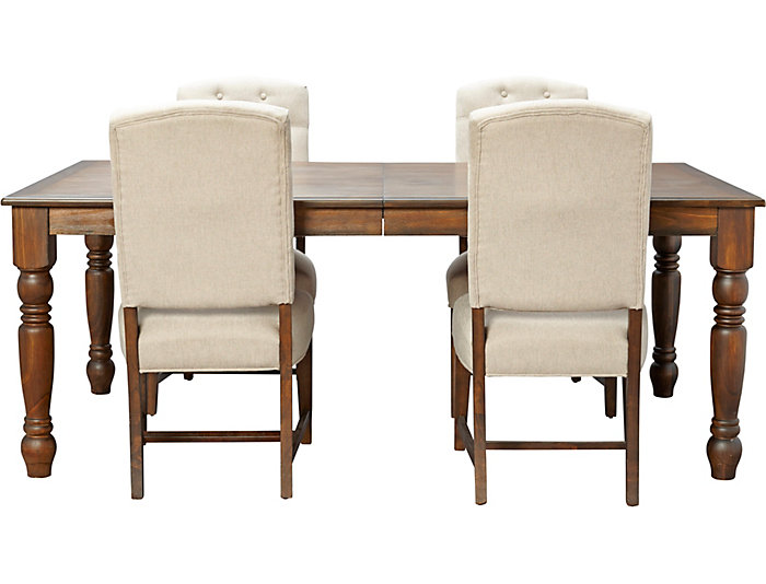 Art Van Dining Room Tables: Paisley Court 5PC Dining Set