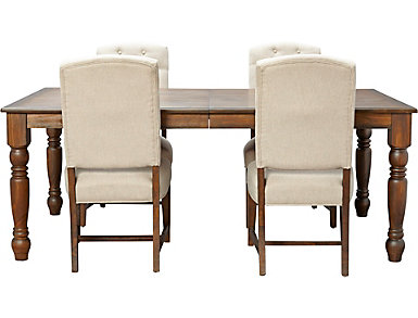 Paisley Court 5PC Dining Set, , large