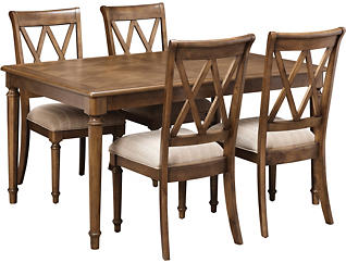 Rossmore Five Piece Dining Set, , large