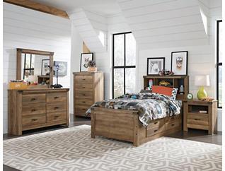 Stanley Full Storage Bedroom Set, , large
