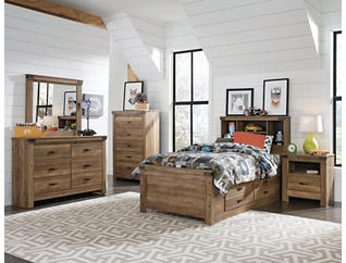 Stanley Full Bedroom Set, , large