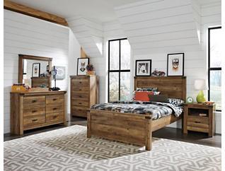Stanley 7-piece Twin Bedroom Set, , large