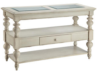 Delphi Sofa Table, White, , large