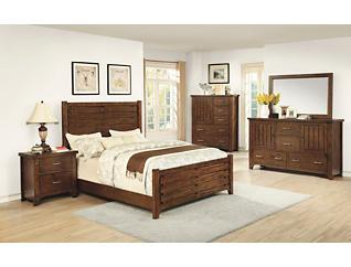 Mustang 3pc King Bedroom Set, , large
