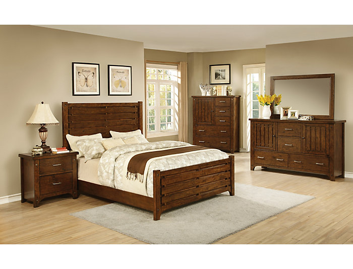 Mustang King Bedroom Set