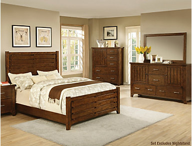 Mustang Queen Bedroom Set, , large