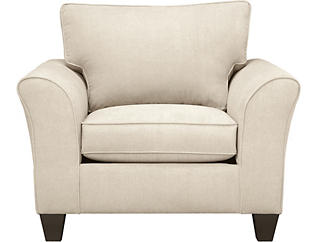 Oliver Beige Chair, , large