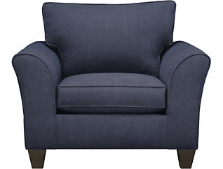 Oliver Navy Chair, , large