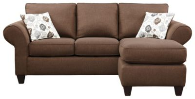 Alfresco II Sofa Chaise, Chocolate, swatch