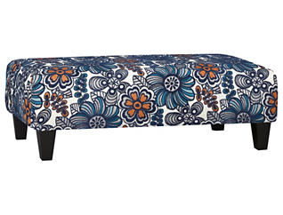 My Sofa Cocktail Ottoman, Blue, Blue, large