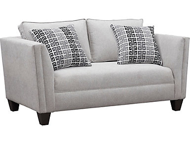 Asher Dove Loveseat, , large