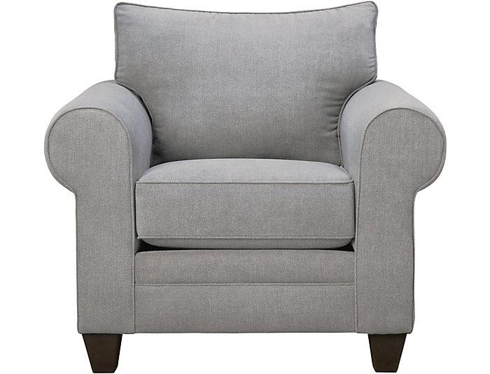 Saxon Grey Chair, , large