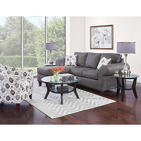 Alfresco II Sofa Chaise Grey Art Van Furniture