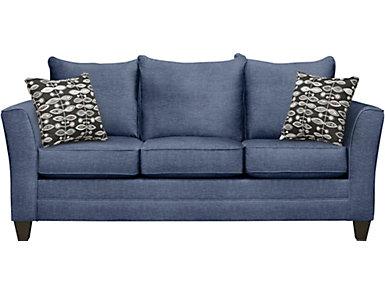 Fallon Blue Sofa, , large