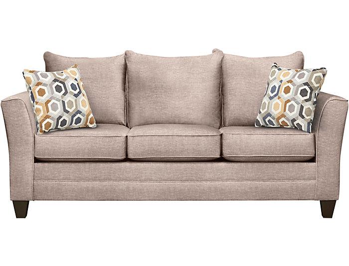 Fallon Sand Sofa Large