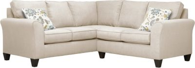 Oliver Sectional, Beige/Aloe, swatch