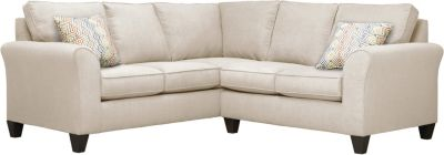 Oliver Sectional, Beige/Canyon, swatch
