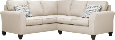 Oliver Sectional, Beige/Marble, swatch