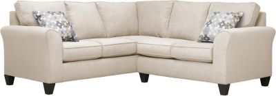 Oliver Sectional, Beige/Moonstone, swatch