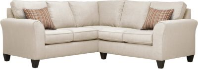 Oliver Sectional, Beige/Rose, swatch