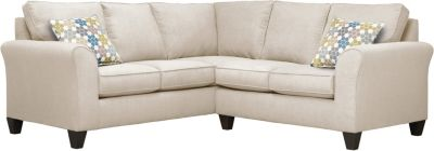 Oliver Sectional, Beige/Tidal, swatch