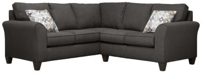 Oliver Sectional, Charcoal/Moonstone, swatch