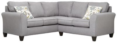 Oliver Sectional, Grey/Aloe, swatch