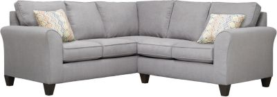 Oliver Sectional, Grey/Canyon, swatch