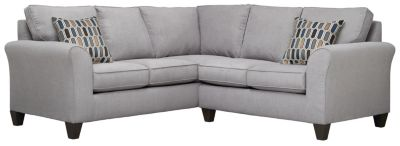 Oliver Sectional, Grey/Bluestone, swatch
