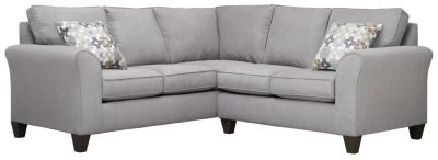 Oliver Sectional, Grey/Moonstone, swatch