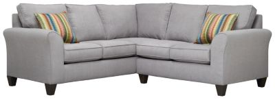 Oliver Sectional, Grey/Rainbow, swatch