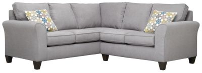 Oliver Sectional, Grey/Tidal, swatch