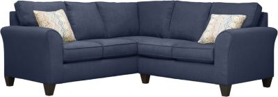 Oliver Sectional, Navy/Canyon, swatch