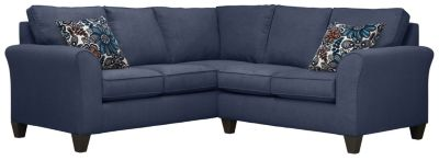 Oliver Sectional, Navy/Blue, swatch