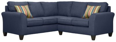 Oliver Sectional, Navy/Rainbow, swatch